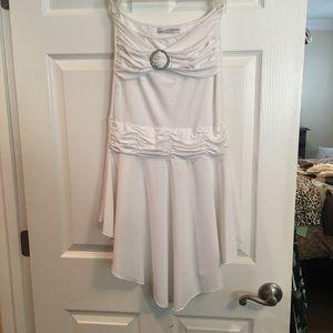 Dresses & Skirts - White Strapless Mini Dress